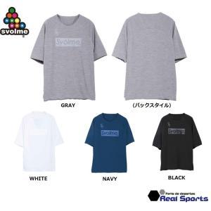新作 SVOLME(スボルメ)WフェイスレイヤーTシャツ 20SS 1201-48300 半袖 BI...