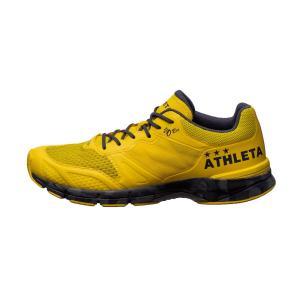 ATHLETA アスレタ ランニングシューズ  O-Rei Running オーヘイ ランニング イエロー×チャコール13003-2066  レアルスポーツ|realsports