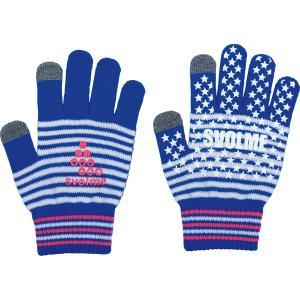 【特価】スボルメ SVOLME 手袋 ジュニア サッカー フットサル スマホ対応ニットグローブJ 173-52629 レアルスポーツ|realsports