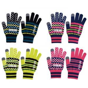【特価】SVOLME スボルメ 手袋 メンズ レディース サッカー フットサル ボーダーニットグローブ 183-89129 レアルスポーツ|realsports