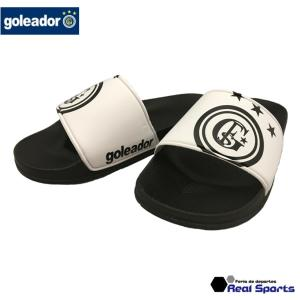 goleador (ゴレアドール) シャワーサンダル A-049 ホワイト ビーチ サッカー フットサル レアルスポーツ|realsports