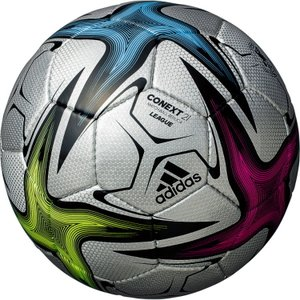 コネクト21 adidas サッカーボール 4号球 リーグ シルバー色 AF434SL JFA検定球 小学生用 子供用 アディダス レアルスポーツ|realsports