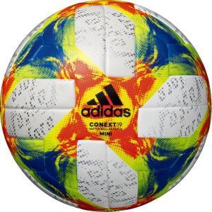 サッカーボール 2019 最新作 アディダス コネクト19  ミニ AFMS100 記念品 rレアルスポーツ|realsports