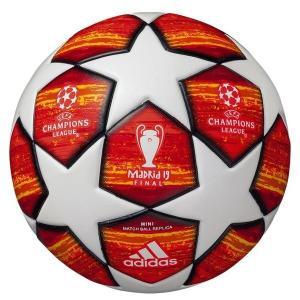 18-19 UEFAチャンピオンズリーグ 決勝トーナメント試合球 レプリカモデル adidas ミニボールAFMS1400MA 記念品 レアルスポーツ|realsports