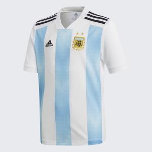 アディダス サッカー キッズ アルゼンチン代表 ホーム レプリカ ユニフォーム ジュニア用 サッカー用品 BQ9288 レアルスポーツ realsports