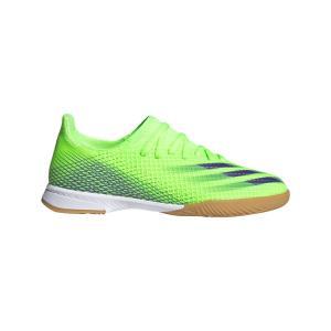 新作 ジュニア adidas アディダス EG8223 エックスゴースト.3 IN J[PRECISION TO BLUR]フローリング ハード インドア 体育館 室内 レアルスポーツ realsports