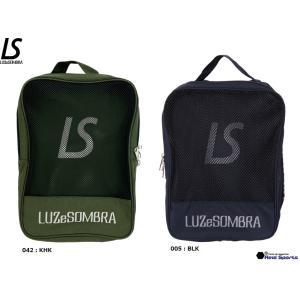 ルースイソンブラ LUZeSOMBRA F1814715 シューズバッグ TWO LAYER SHOES CASE サッカー フットサル アクセサリー レアルスポーツ|realsports