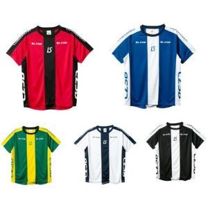 ルースイソンブラ LUZ 19SS F1911014  ストライプラインロゴパターン プラシャツ プラクティスシャツ サッカー フットサル レアルスポーツ realsports
