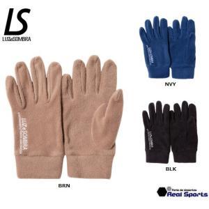 【予約販売】新作 LUZeSOMBRA ルースイソンブラ 19FW LOGO FLEECE GLOVE F1914920 手袋 防寒アクセサリー レアルスポーツ|realsports