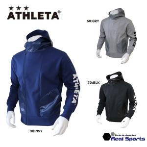 《特価》ATHLETA アスレタ 防風スウェットZIPパーカー 19AW SP-169 防寒着 サッカー フットサル ウェア レアルスポーツ|realsports