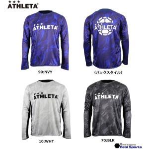 新作 ATHLETA (アスレタ)20AW ロングプラクティスTシャツ SP-188 サッカー フットサル 長袖 ウェア レアルスポーツ|realsports