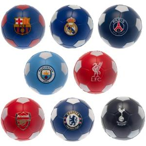 (海外オフィシャルグッズ)ストレス解消ボール サッカー クラブチーム レアルスポーツ|realsports