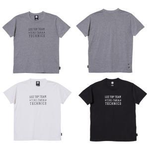 ルースイソンブラ Tシャツ 新作 メンズ  LUZ TOP TEAM コーデュラTシャツ   サッカー フットサル ウェア T1812048 レアルスポーツ|realsports