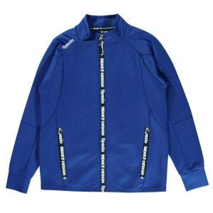 スパッツィオ ジュニア ジップロゴボンディングジャケット サッカー フットサル TP-0521 レアルスポーツ realsports
