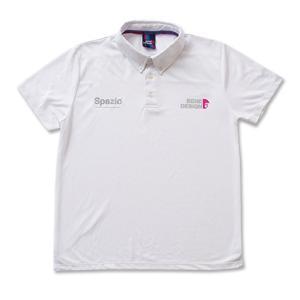 SPAZIO スパッツィオ MARMOポロシャツ TP0491 ホワイト/ブラック/ネイビー/ピンク レアルスポーツ|realsports