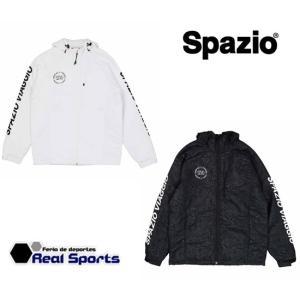 新作 Spazio スパッツィオ  エンブレム中綿パーカー 19FW VG-0012 サッカー フットサル ウェア レアルスポーツ realsports