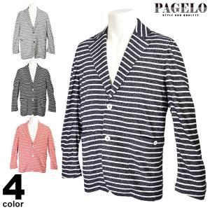 パジェロ PAGELO 長袖 ジャケット メンズ 2020春夏 タオル地 ロゴ 01-4106-07c|realtree