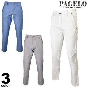 PAGELO パジェロ デニムパンツ メンズ 2020春夏 ストレッチ 刺繍 ロゴ 01-5001-07n|realtree