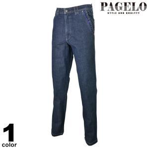 PAGELO パジェロ デニムパンツ メンズ 2020春夏 ストレッチ 刺繍 ロゴ 01-5007-07|realtree