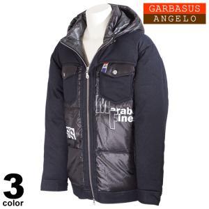 セール 30%OFF ANGELO GARBASUS アンジェロガルバス ダウンジャケット メンズ 2020秋冬 ジップアップ プリント ロゴ 05-3103-03|realtree