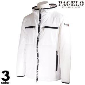 PAGELO パジェロ ブルゾン メンズ 2020秋冬 フード付き バックプリント ロゴ 05-3103-06|realtree