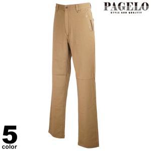 PAGELO パジェロ ロングパンツ メンズ 2020秋冬 綿パン ストレート ロゴ 05-5020-17|realtree