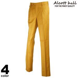 セール 30%OFF ALCOTT HILL アルコットヒル ロングパンツ メンズ 2020秋冬 無地 ロゴ 花柄 05-5101-10|realtree