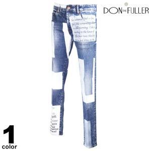 セール 30%OFF DONTHEFULLER ドンザフーラー デニムパンツ メンズ 2020秋冬 インポート ダメージ イタリア製 ロゴ 05-5302-36|realtree