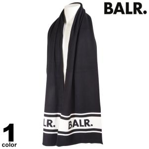 BALR. ボーラー マフラー メンズ 2020秋冬 ボーダー ロゴ 08-0401-52|realtree
