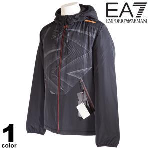 セール 30%OFF EA7 エンポリオアルマーニ EMPORIO ARMANI ブルゾン メンズ 2020秋冬 フルジップ フード付き 裏起毛 ロゴ 08-3102-52|realtree