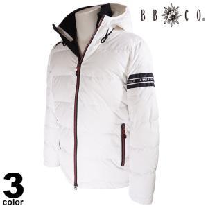 セール 30%OFF BBCO ビビコ ダウンジャケット メンズ 2020秋冬 フード付き ロゴ 08-3103-12|realtree
