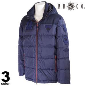 セール 30%OFF BBCO ビビコ ダウンジャケット メンズ 2020秋冬 フード付き フルジップ ロゴ 08-3104-12|realtree