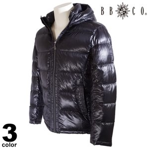 セール 30%OFF BBCO ビビコ ダウンジャケット メンズ 2020秋冬 フード付き ロゴ 08-3105-12|realtree
