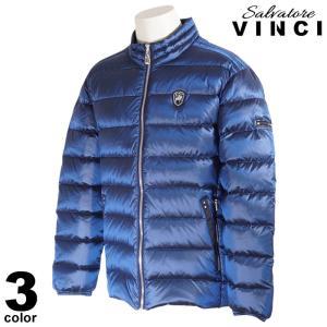 VINCCI ヴィンチ ダウンジャケット メンズ 2020秋冬 無地 ロゴ フード無 ワッペン 08-3106-09|realtree