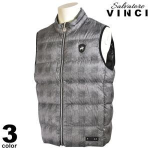 大きいサイズ ヴィンチ VINCI ベスト メンズ 秋冬 ジップアップ 中綿 チェック柄 ワッペン ロゴ 08-3505-091|realtree