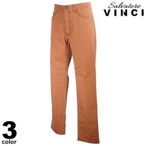 VINCCI ヴィンチ デニムパンツ メンズ 2020秋冬 無地 ロゴ 刺繍 ワッペン 08-5302-09|realtree