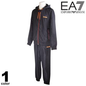 セール 30%OFF EA7 エンポリオアルマーニ EMPORIO ARMANI 上下セット メンズ 2020秋冬 フルジップ フード付き メッシュ ロゴ 08-6103-52 realtree