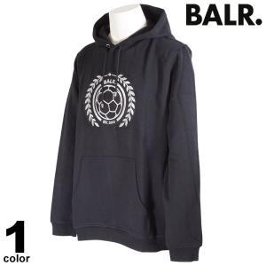 セール 30%OFF BALR. ボーラー 長袖 トレーナー メンズ 2020秋冬 フード付き ワッペン ロゴ 08-6501-52|realtree