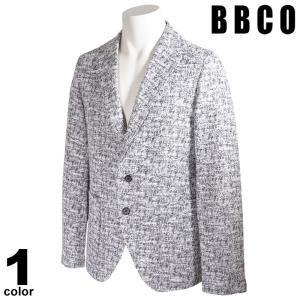 BBCO ビビコ テーラードジャケット メンズ 2021春夏 総柄 ロゴ 11-4101-01|realtree