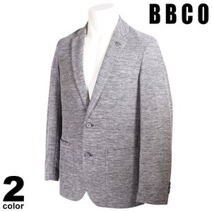 BBCO ビビコ テーラードジャケット メンズ 2021春夏 無地 ロゴ 11-4102-01|realtree