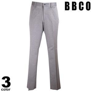 BBCO ビビコ ロングパンツ メンズ 2021春夏 前ボタン 後ろポケット ロゴ 11-5004-01|realtree