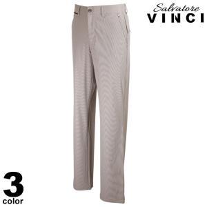 VINCCI ヴィンチ ロングパンツ メンズ 2021春夏 ストライプ 軽量 ロゴ 11-5301-09|realtree
