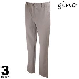 gino ジーノ ロングパンツ メンズ 2021春夏 前ボタン 後ろポケット ロゴ 11-5304-02|realtree