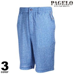 PAGELO パジェロ ショートパンツ メンズ 2021春夏 裏メッシュ ワッペン ロゴ 11-5501-07|realtree