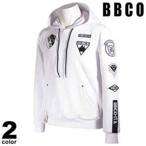 BBCO ビビコ 長袖 トレーナー メンズ 2021春夏 フード付き ワッペン ポケット付き 11-6501-01|realtree