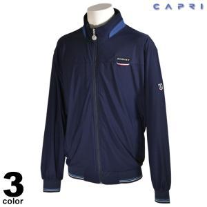 大きいサイズ セール 80%OFF CAPRI カプリ 長袖 ブルゾン メンズ 春夏 ジップアップ ワッペン ロゴ 3231-30031|realtree