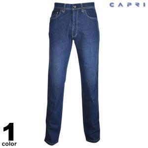 セール 80%OFF CAPRI カプリ デニムパンツ メンズ 春夏 刺繍 ロゴ 3231-4111|realtree