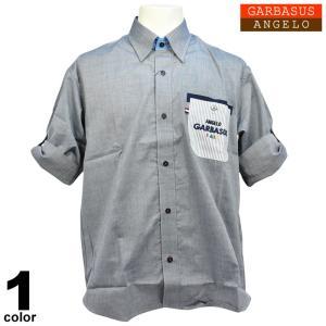 アウトレット ANGELO GARBASUS アンジェロガルバス 半袖シャツ 薄手 胸ポケット 半袖 ロゴ刺繍 53-20303-49|realtree
