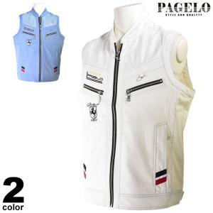 パジェロ PAGELO ベスト メンズ 2020春夏 刺繍 メッシュ ワッペン 03-3508-07|realtree