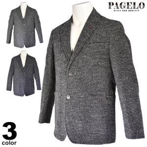 パジェロ PAGELO テーラードジャケット メンズ 2019秋冬 ウール ロゴ 95-4105-07c realtree